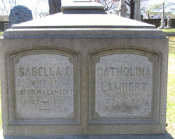 Grave of Lambert and Isabella