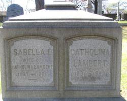 Grave of Lambert and Isabella