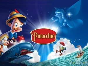 Pinocchio-Wallpaper
