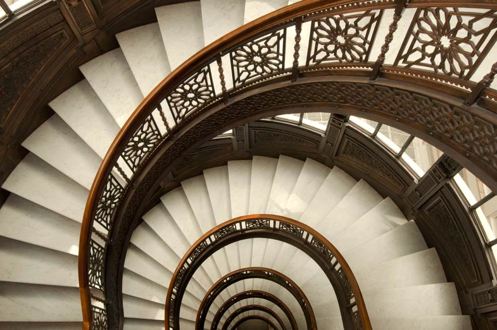 staircase photography